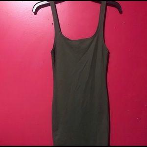 ZARA Dark green Pencil dress 👗